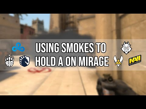 How You Should Use Your Smoke When Holding A on Mirage