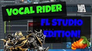 How to EDM: FL Studio Style Vocal Rider / TIP - Using CLA On Vocals
