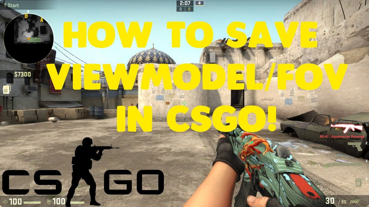 How to save viewmodel/fov in CSGO! *Easiest and Fastest way*