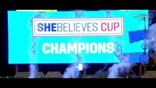 2019 SheBelieves Cup Champions