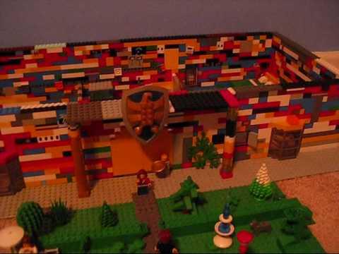 Huge Awsome Lego Mansion Youtube