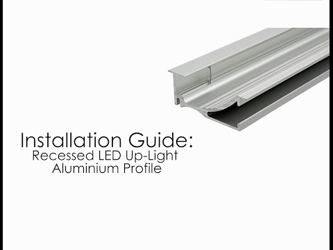 Biard Aluminium Profile Wall Up Light Installation Guide