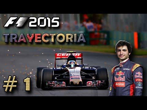 """F1 2015 Codemasters   TRAYECTORIA #1   """"El Chino Cudeiro"""""""