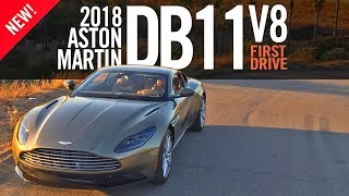 2018 Aston Martin DB11 V8 First Drive Review