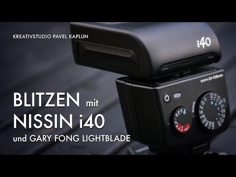 Blitzen mit Nissin i40 und Gary Fong Lightblade