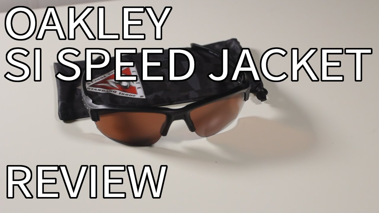 5739d759cf362 Oakley SI Speed Jacket Sunglasses Review - YouTube