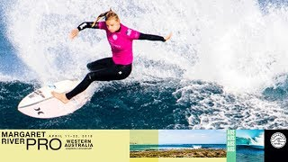 Lakey Peterson vs. Mikaela Greene - Round Two, Heat 3 - Margaret River Women's Pro 2018