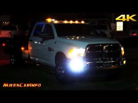 2018 RAM 3500 Chassis Cab Knapheide Transformation - Quick Look Day & AT NIGHT
