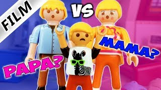 Playmobil Film Deutsch ZWISCHEN GESCHIEDENEN ELTERN WÄHLEN! GEHT PHILIPP ZUR MUTTER? Familie Vogel