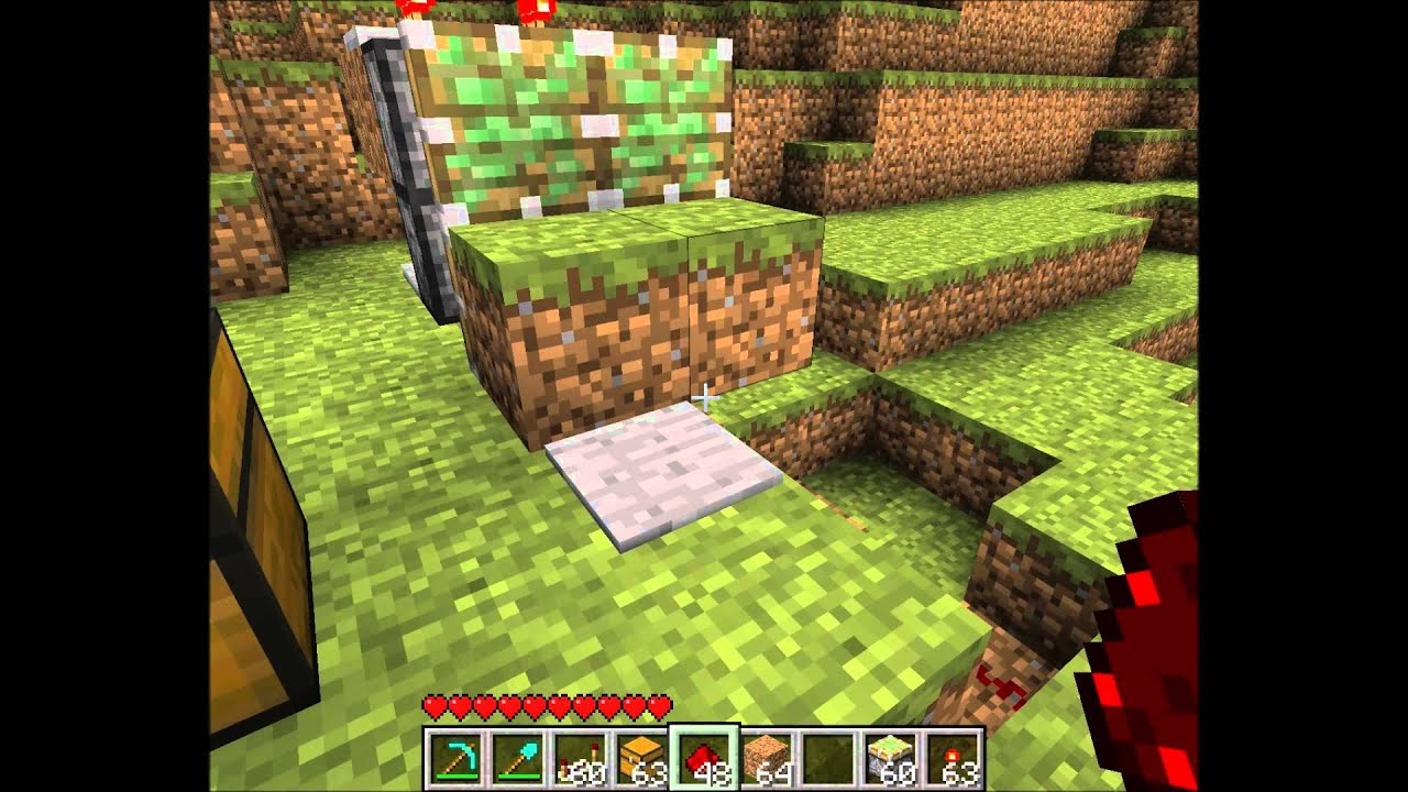 minecraft how to make a wall trap