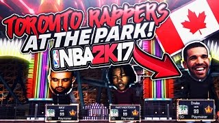 TORONTO RAPPERS AT PARK DRAKE x PARTYNEXTDOOR x NAV @ MyPark Going Crazy - NBA 2K17 thumbnail