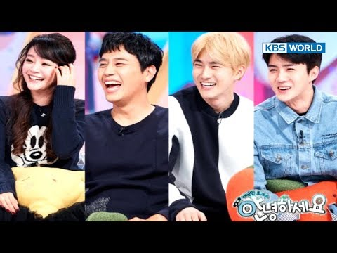 Guests - Suho and Sehun from EXO, Kim Sohyun & Junho [Hello Counselor / SUB : ENG,THAI / 2017.11.13]