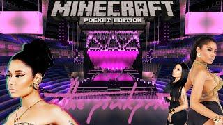Nicki Minaj - The Pinkprint Tour (Minecraft)