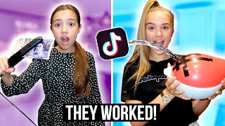 We Tested VIRAL TikTok Life Hacks!! *THEY WORKED*