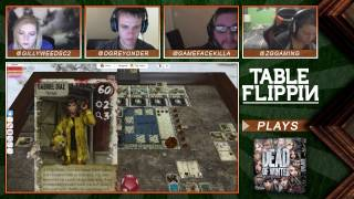Dead Of Winter - Ep. 3 Gameplay (1/2) - Table Flippin Board Games