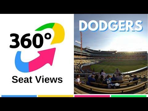 Dodger Stadium 360 Seat View   TickPick's VR Experience