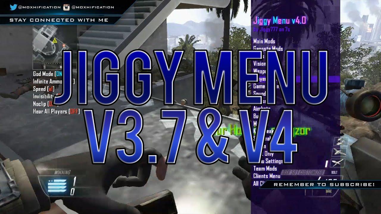 Xbox - BO2 | TU18/1 19 | Jiggy Menu v3 7 & v4 Multi GSC Mod