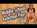 Middle School Basketball Plays | Middle School Basketball Offense and Defense