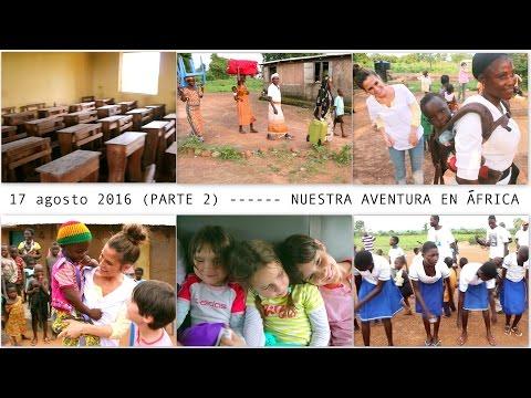 Día 4 (Parte 2) VIAJE A GHANA ONG - Colegio + Método canguro en África + Apadrinada por suscriptores