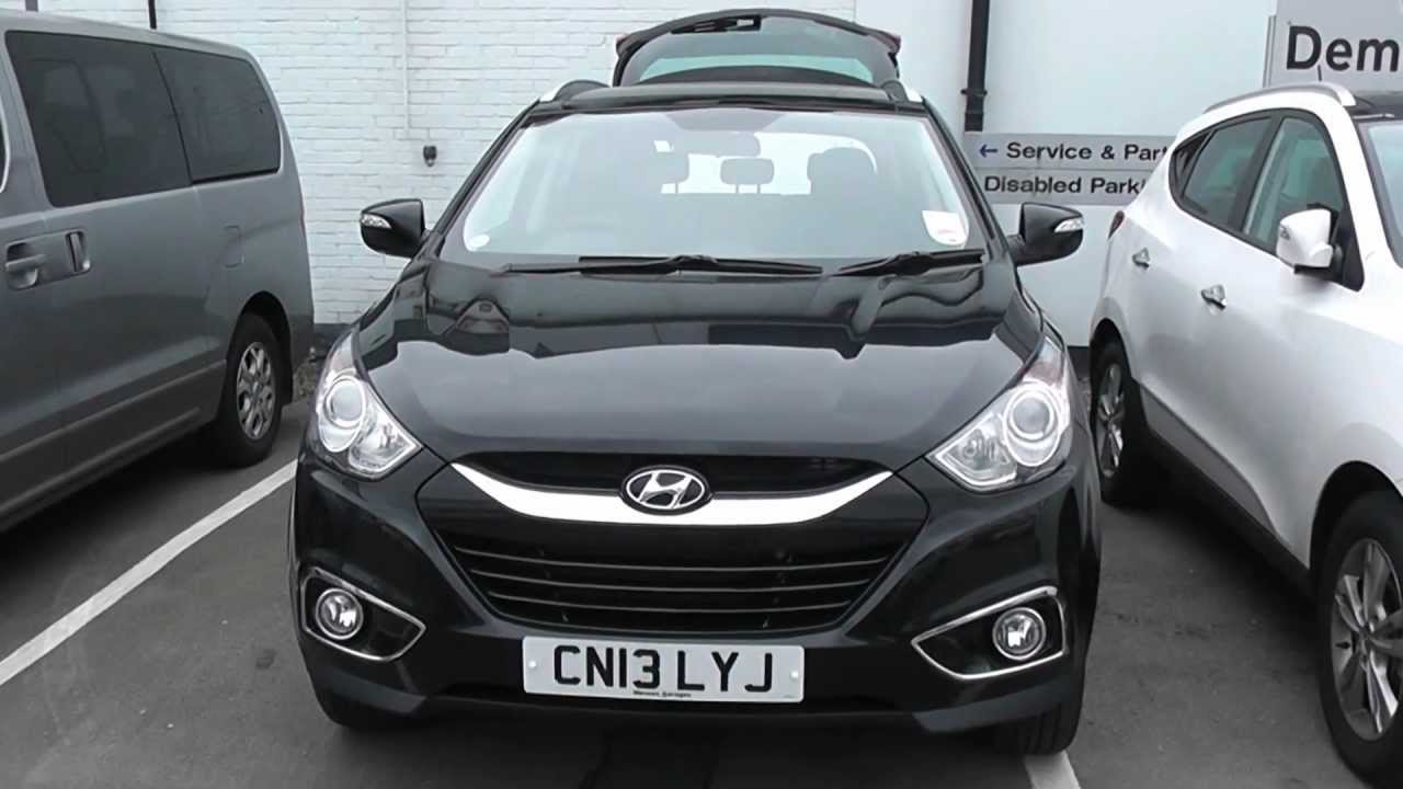 HYUNDAI IX35 WESSEX PENARTH RD CARDIFF BLACK CN13LYJ - YouTube