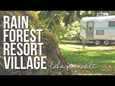 Rain Forest Resort Village at Lake Quinault, Washington - a Drivin' & Vibin' Travel Vlog