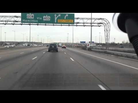 highway 401- Toronto- Canada, driving