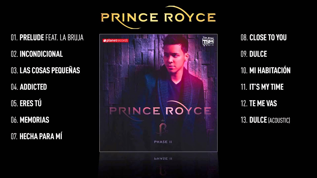 """Download PRINCE ROYCE VIDEO HIT MIX ► """"Phase II"""" Complete Album ► 45 minutes - 13 SMASH HITS"""