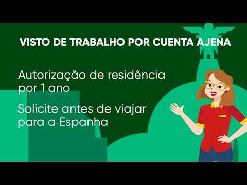 Como conseguir o Visto de Trabalho por Cuenta Ajena na Espanha?