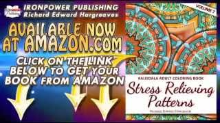Kaleidala Adult Coloring Book – Stress Relieving Patterns – vol 7