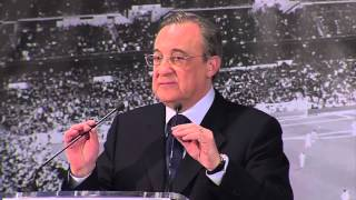 Real madrid president florentino perez refutes player ultimatum