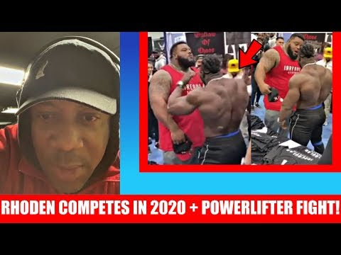 Shawn Rhoden Speaks on Competing in 2020 + Powerlifter Fight + Arnold's Son and Sergio Oliva jr