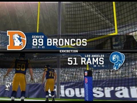 1989 Denver Broncos vs. 1951 Los Angeles Rams