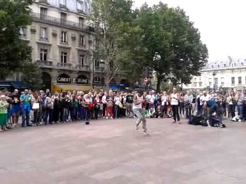 hip hop paris place saint michel