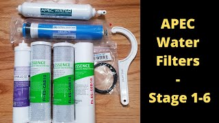 How To Replace Apec (ROES-PH75) Reverse Osmosis Filters and Membrane - Stage 1-6