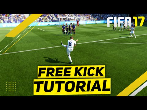FIFA 17 FREE KICK TUTORIAL - NEW FREE KICKS TUTORIAL - THE S