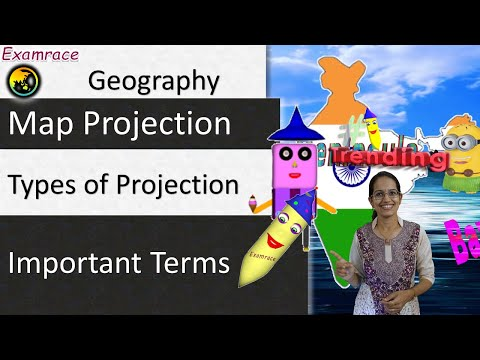 Map Projection and its Types: Fundamentals of Geography - YouTube