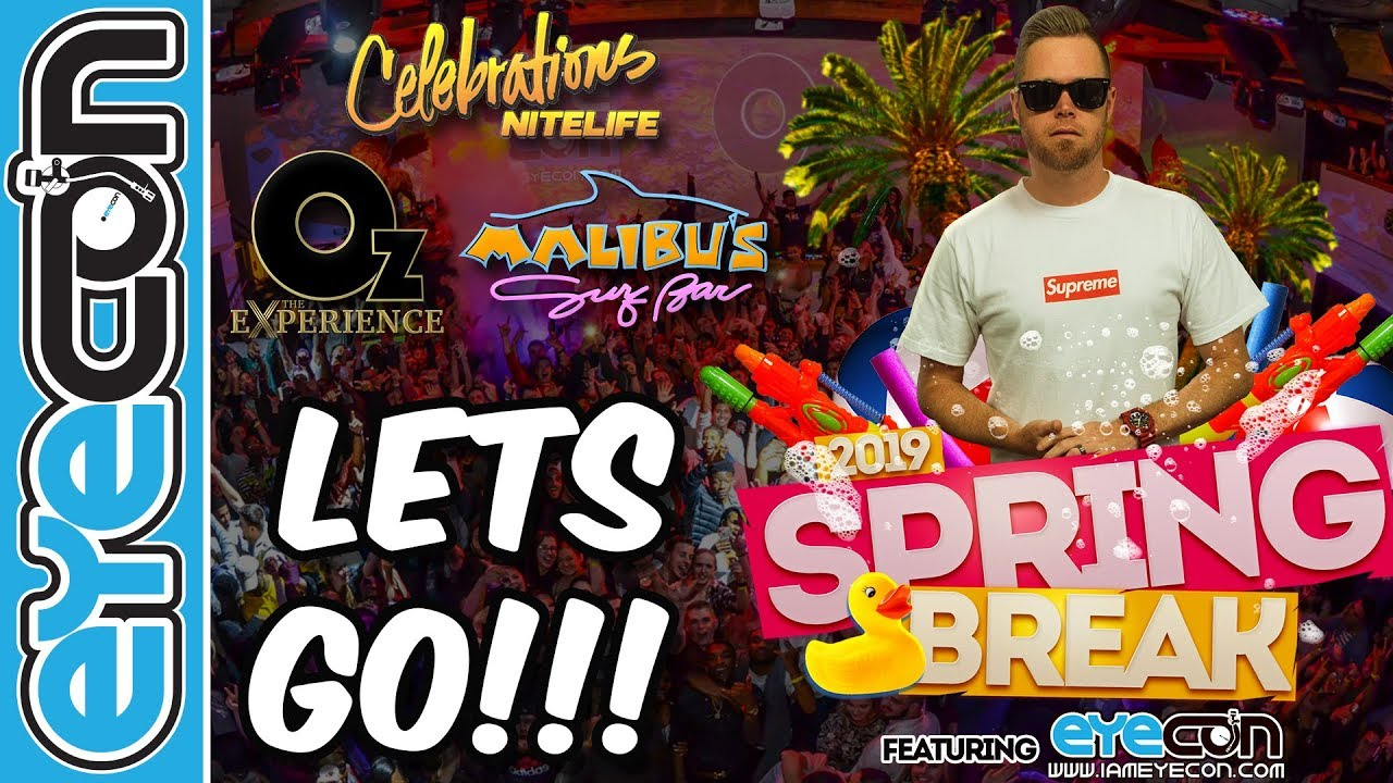 2019 Spring Break Promo - Eyecon