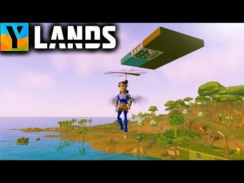 Ylands - CRAFTSMAN'S POTION AND FLOATING PLATFORM! (Ylands Gameplay Part 19)