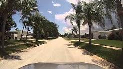 Satellite Beach, Florida - Drive around North Waterway Estates HD (2015)