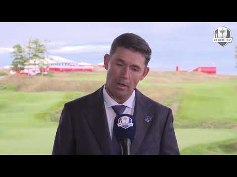 Padraig Harrington Pairings Reaction Forusome 2021 Ryder Cup Whistling Straits