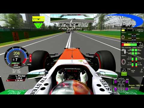 rF1-Simracing.eu - OnBoard Australian Grand Prix