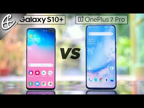 OnePlus 7 Pro vs Galaxy S10 Plus Speedtest Comparison - Didn't Expect This!