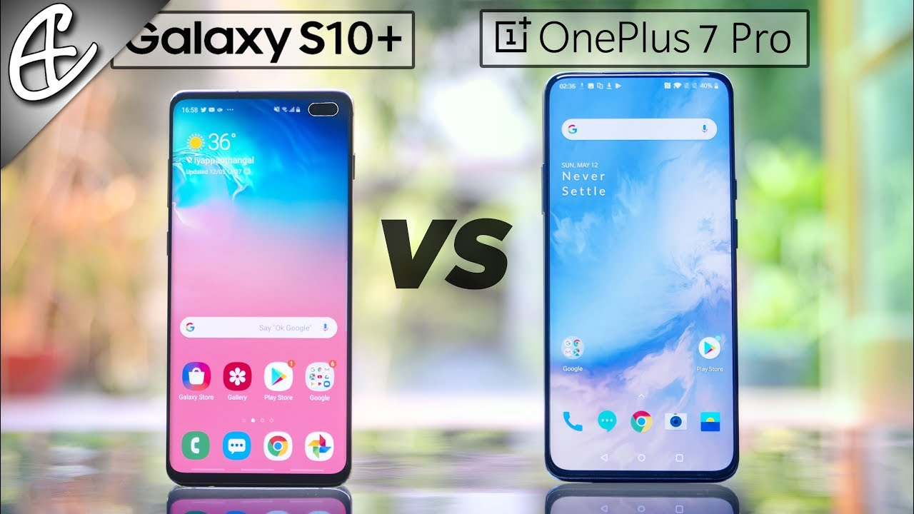 OnePlus 7 Pro vs Galaxy S10 Plus Speedtest Comparison - Didn