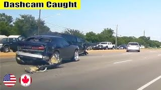 Ultimate North American Cars Driving Fails Compilation - 233 [Dash Cam Caught Video]