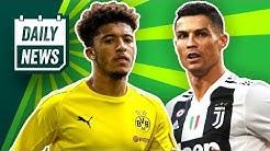 Champions League Update! Cristiano Ronaldo: Angebot von PSG? BVB: Neuer Vertrag mit Sancho?