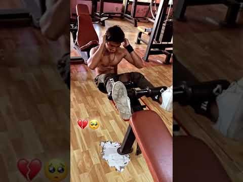 ये रुह भी मेरी ❤   After breakup gym workout motivation status