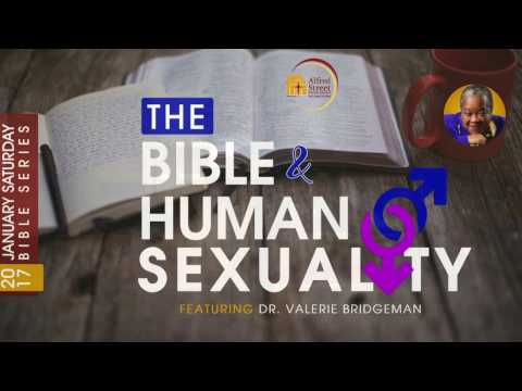 January Bible Study Series: The Bible & Human Sexuality, Dr Valerie Bridgeman