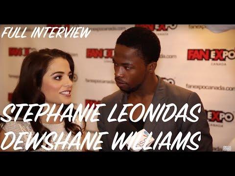 Stephanie Leonidas & Dewshane Williams