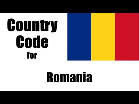 Romania Dialing Code - Romanian Country Code - Telephone Area Codes in Romania