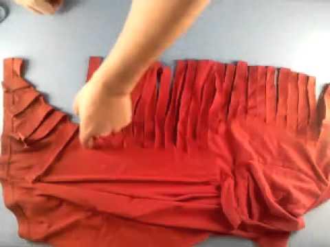 Manualidades c mo hacer una camiseta con escote de - Videos de zumba para hacer en casa ...